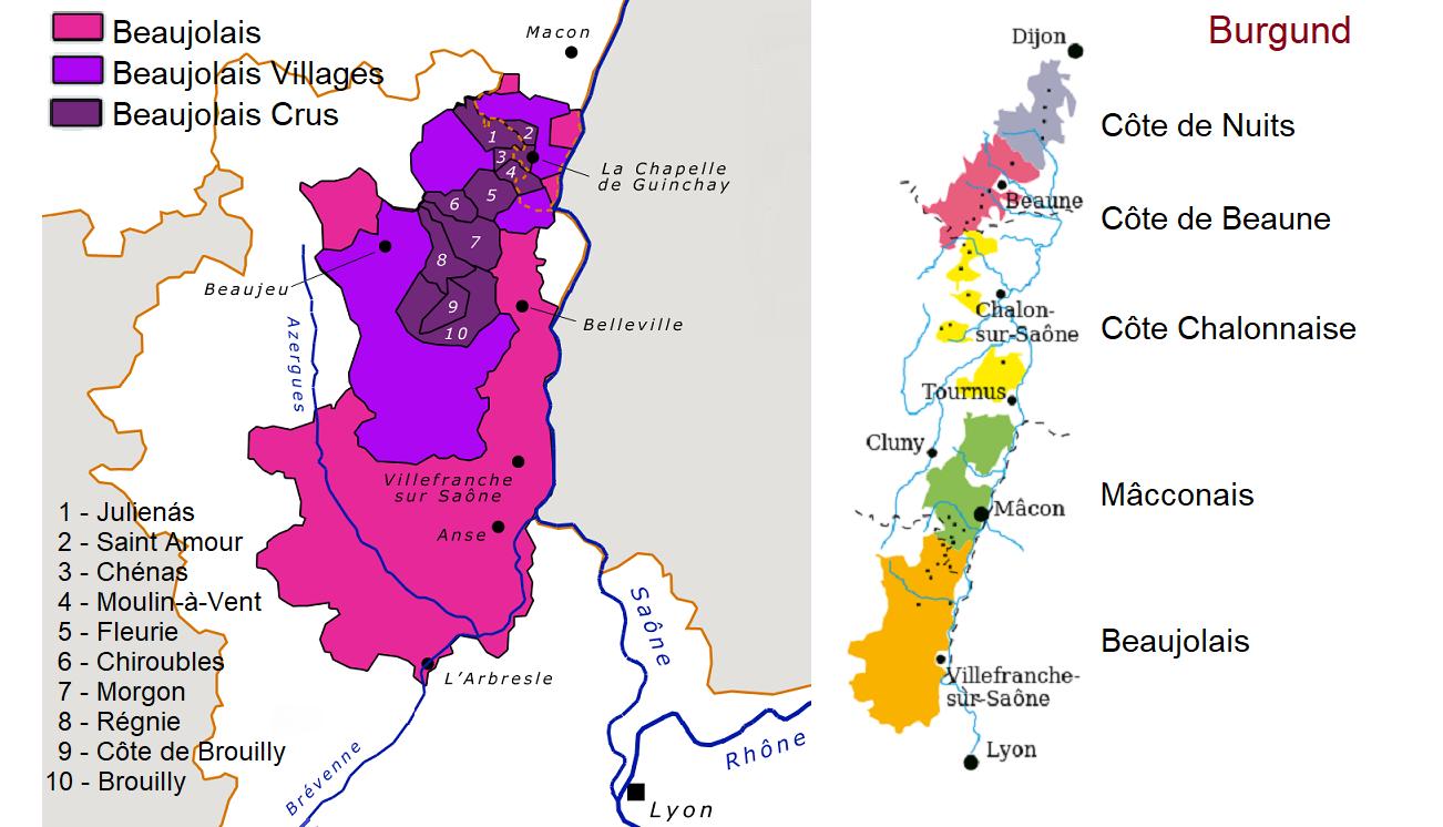Wein Beaujolais